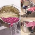 Neue PP Küche Zeug Mesh Sieb Siebe Obst Reis Gemüse Nudeln Saubere Werkzeuge