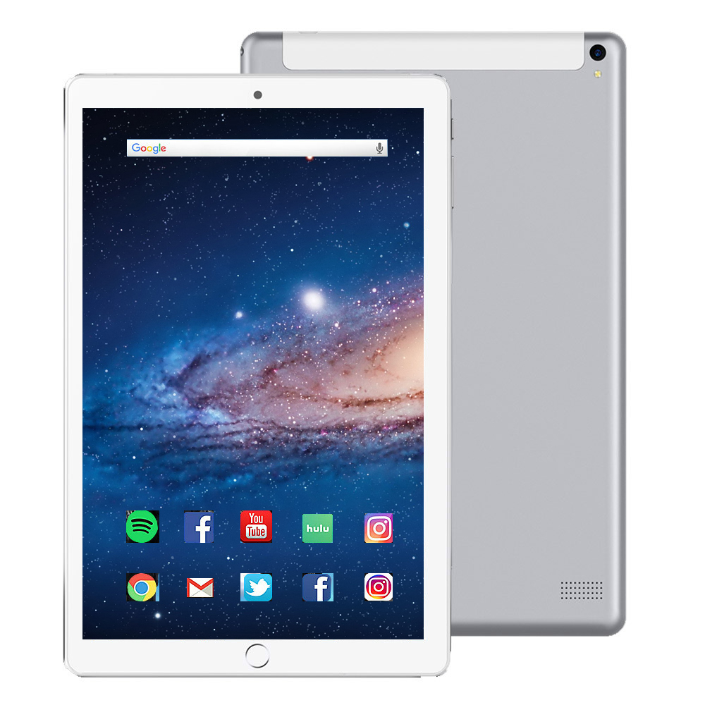 2020 Sales Hot 10.1 Inch Tablet Android 8.0 1920*1200 IPS 4G LTE MTK6797 10 Core 6GB RAM 128GB ROM 8MP WiFi GPS Tablets 10.1