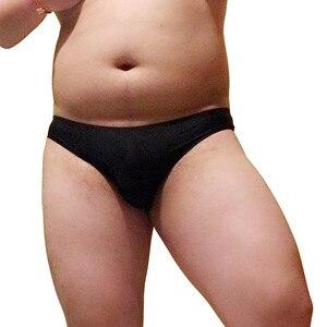 Image 3 - Złoty niedźwiedź Claw Paw nadruk kawałek bez szwu bielizna Plus rozmiar mężczyźni Sexy majtki Gay dumny spodenki biały czarny niebieski L XL XXL XXXL