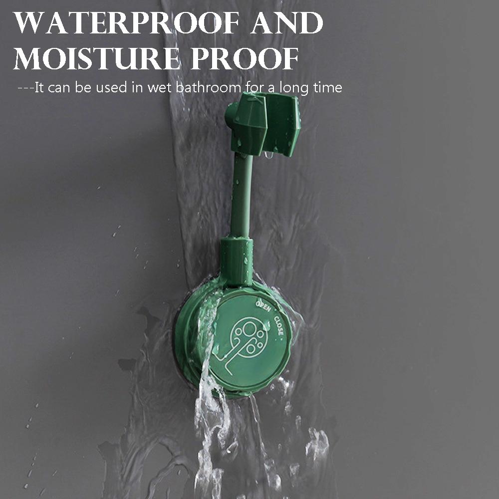 Универсальный Регулируемый кронштейн для душа без перфорации на 360 °, держатель для головки душа в ванную комнату, регулируемые аксессуары ...