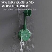360 ° punch-livre universal ajustável suporte de chuveiro do banheiro cabeça de chuveiro titular ajuste do bocal acessórios de banheiro