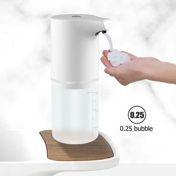 Automatic Liquid Soap Dispenser Hand Free Smart Liquid Sensor Soap Touchless Dispenser Pump For Kitchen Bathroom Hand Washer 1