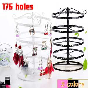 176 Hole Round Earrings Jewelr