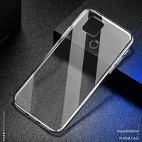 Funda de silicona transparente ultrafina para móvil, Funda suave de TPU para Realme C11, C12, C15, C17, C20, C20A, C21, C21Y, C25, Funda trasera del teléfono