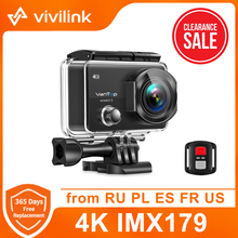 Vivilink Action Camera VanTop Moment 3 Sport Cam WiFi Remote Control Sport Video Camcord Waterproof Camera Wireless Underwater