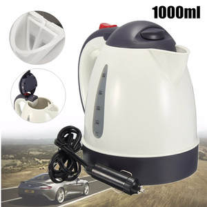 Water-Heater Hot-Kettle Coffee Travel Portable 304-Stainless-Steel Car 1000ML for Tea