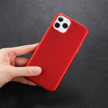 Ottwn For iPhone 11 Case Half-Pack Plain Phone Cover XR 2019 XS MAX Candy Color Bag Fitted