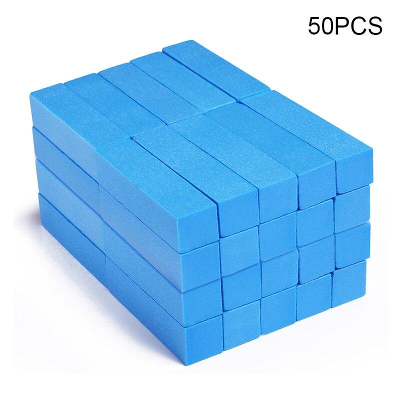 5/20/50pcs Nail File Buffers For UV Gel Polish Remover File Block Polish Manicures Pedicure Sanding Nail Art Tool Kit