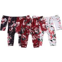 Детские комбинезоны для маленьких девочек 0-18 месяцев; 3 цвета; комбинезон с открытыми плечами и цветочным принтом; верхняя одежда