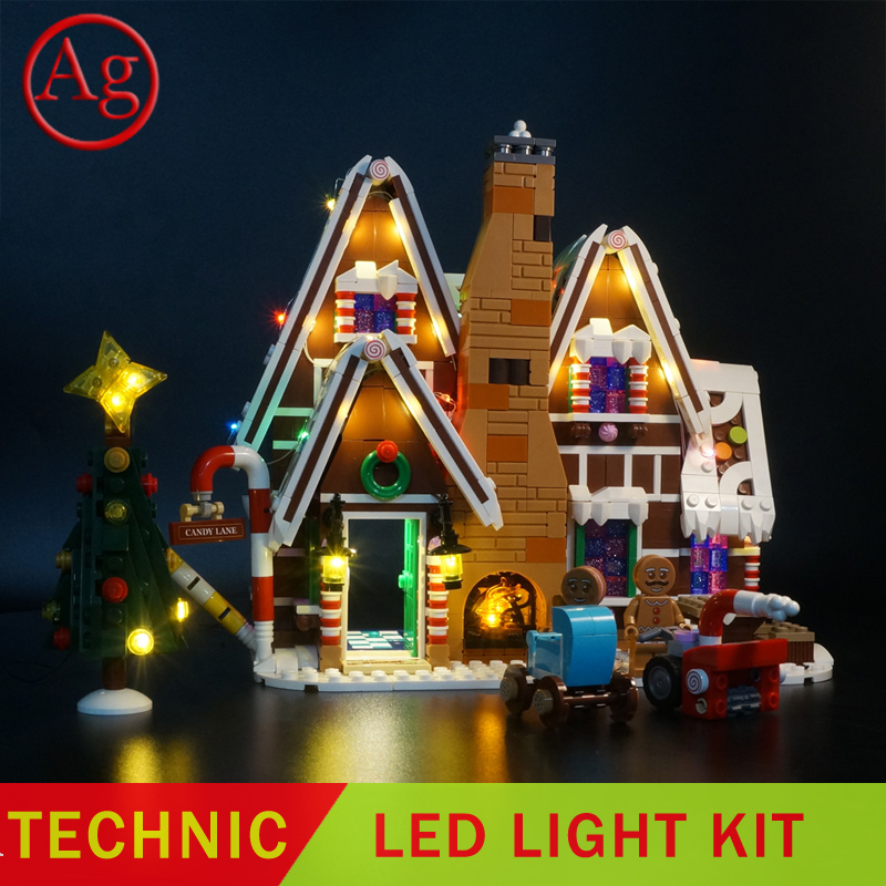 Led Light Kit Compatible Legoed 10267 Gingerbread DIY House Set Building Block Bricks Kids Toy (Not Include The Blocks Set) | Model Building