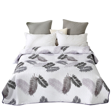 Quilt Coverlet Bedspread Pillowcase Bedding Cotton Double/single-Size Blanket Polyester