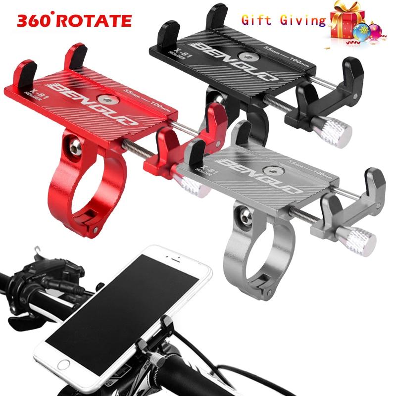 Bike Phone Holder Bicycle Holder Mobile Phone Holder Bike Handlebar Bike Universal Motorcycle Phone Mount Stand Support Bracket