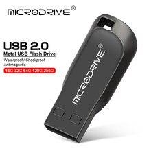 Descontos de metal pendrive USB flash drive GB GB 32 16 8GB 64GB 128GB pen drive memory stick U Disk cle USB2.0 minúsculo usb