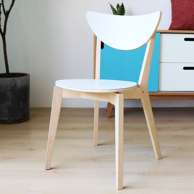Nordic Solid Wood Normiola Chair Modern Minimalist Coffee To Talk About The Chair Computer Chair Should Be Home Restaurant