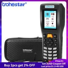 Trohestar Wireless Barcode Scanner 1D 2D QR Bar Code Reader PDF417 Handheld Inventory Counter Data Collector Bar Code Scanners