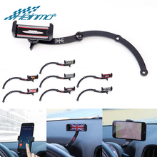 For MINI Cooper R56 R61 Decor Parts Steering Wheel Car Smart Phone Folding Holder for MINI Countryman R60 for MINI Clubman R55