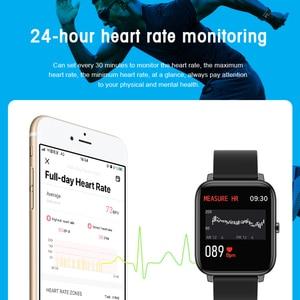 Image 5 - P22 Đồng Hồ Thông Minh Nam Nữ Thể Thao Đồng Hồ Theo Dõi Nhịp Tim Theo Dõi Giấc Ngủ IP67 Đồng Hồ Thông Minh Smartwatch Cho Oppo Android IOS