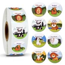 500pcs reward stickers children toys decorative labels teacher sticker scrapbook words perfect