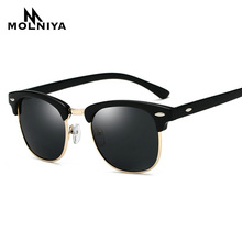 3016 New Polarized Sunglasses Men Women Brand Design Sun Gla