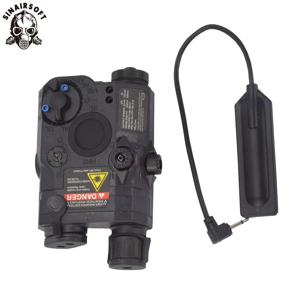 Paintball Airsoft Shooting LA PEQ15 Red Dot Tactical Light PEQ Red Laser PEQ 15 IR Lights Laser Combo Hunting Peq-15 Element