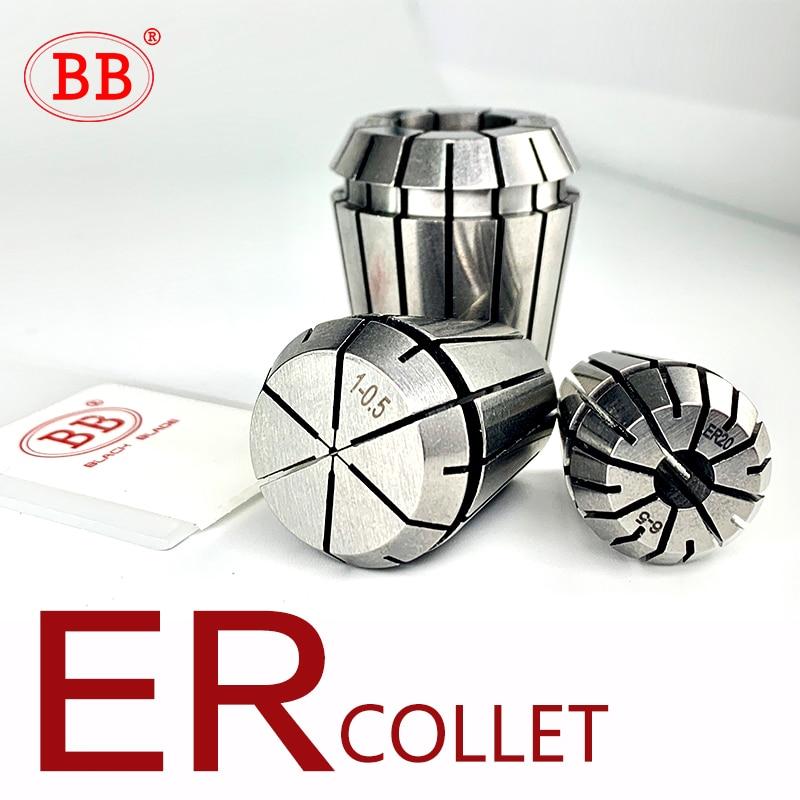 BB Spring Collet Standard CNC Holder ER11 ER16 ER20 ER25 ER32 ER40 16 Slots Engraving Machine Milling Lathe Tool Work Holding