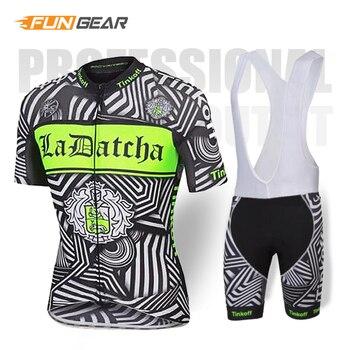 Tinkoff, Ropa de Ciclismo MTB, conjunto de Jersey de manga corta, Pro...