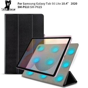 Новое поступление чехол для Samsung Galaxy Tab S6 Lite P610 P615 SM-P610 SM-P615 10,4 дюйма защитный Магнитный чехол для планшета