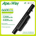 Apexway 11.1V 6 celle batteria per Clevo C4500BAT-6 C4500BAT 6 B4100M C4500 C4500BAT6 B4105 B5100M B5130M W150 W240C W240HU w250H