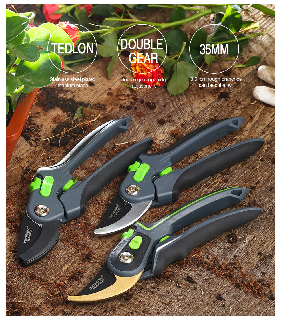 DTBD Time Saving Gardening Scissor as Hand Pruning Shears for Orchard Tree and Fruit Tree 7