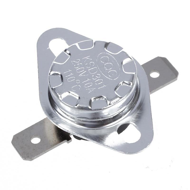 2 Pcs 85 Celsius NC Temperature Control Switch Thermostat KSD301
