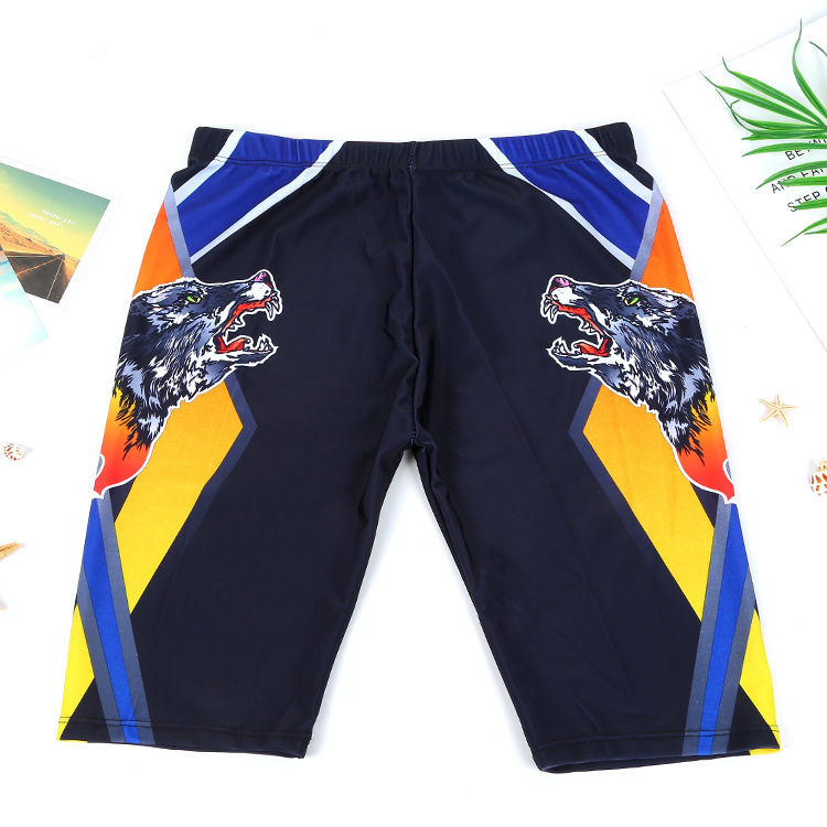 Summer Excellent Sail 2018 New Style Swimming Trunks Men Short Swimming Trunks Fashion & Sports Men's Long Swimming Trunks