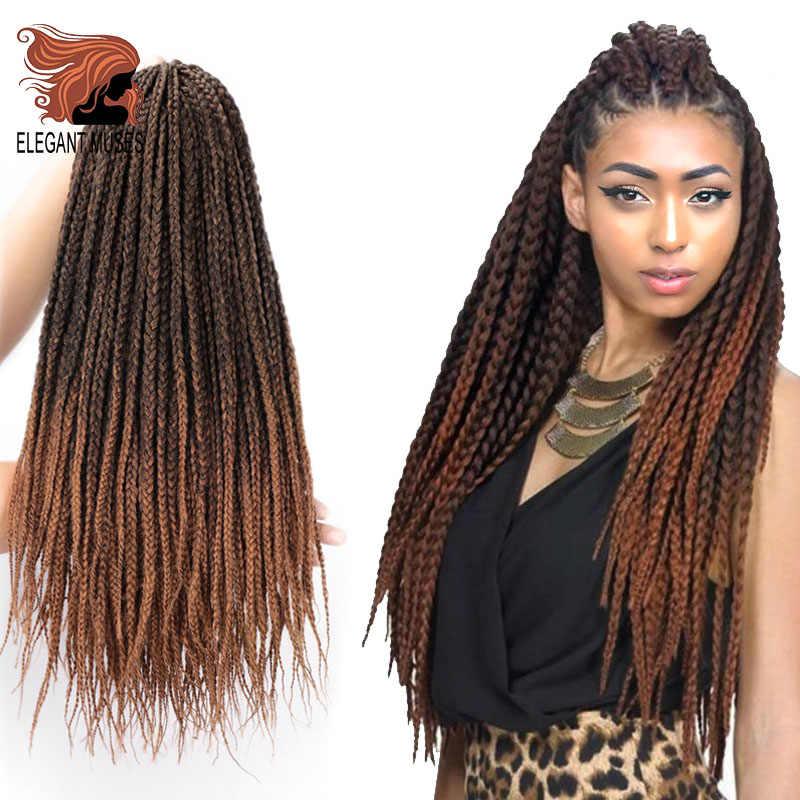 Элегантные Музы, вязанные крючком косички, коробочка для волос, косички, синтетические волосы, богиня, замки, вязанные крючком, наращивание волос, доступно 10 цветов