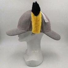 Takara POKEMON Figure Doll Toys Movie Detective Pikachu Cosplay Hat Plush Animated Adult Costume Baseball Gift