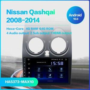 "Image 2 - 9 ""Android 10 Auto Radio für Nissan Qashqai Multimedia 2008 2009 2010 2011 2012 2013 2014 4G 64G Lenkrad Contorl BT"