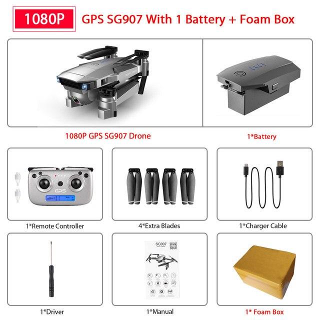SG907 1080P 1B Foam