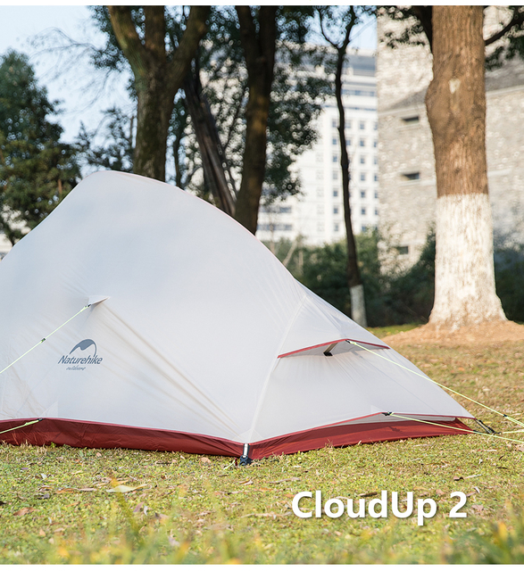 Naturehike cloud up serie 123 upgr