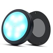 Car Voice-activated Atmosphere Lamp USB Decorative Lamp Adjustable Car Interior Decor Light Sound-activated Dj Ambient Light