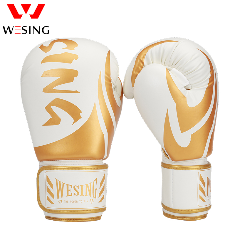 Wesing Professional boxing gloves fight MMA Gloves Martial Arts competition training mitts
