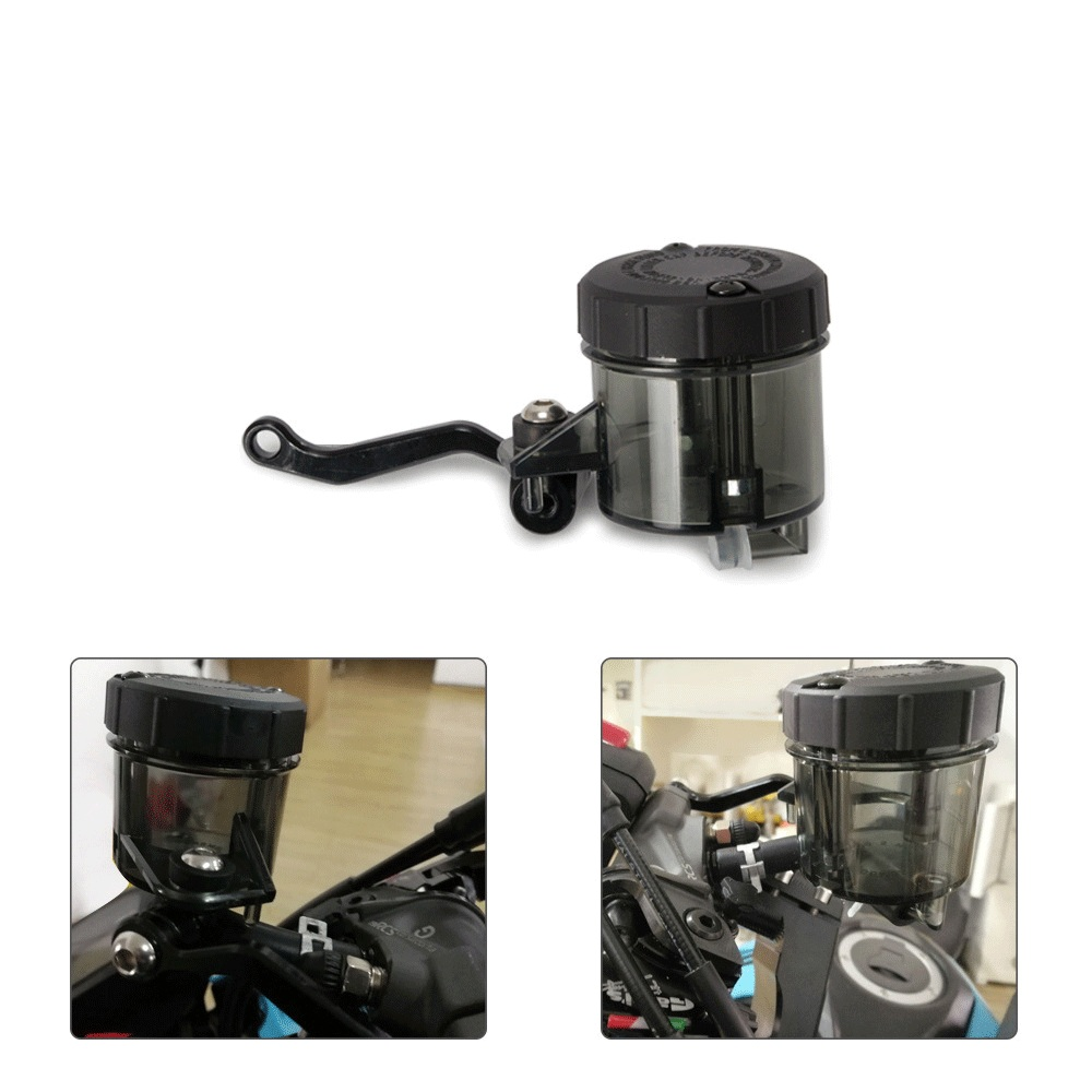 Universal Motorcycle Front Brake Fluid Bottle Master Cylinder Oil Reservoir Cup For <font><b>BMW</b></font> HONDA zoomer s1000r <font><b>k100</b></font> c650gt gs f650 image