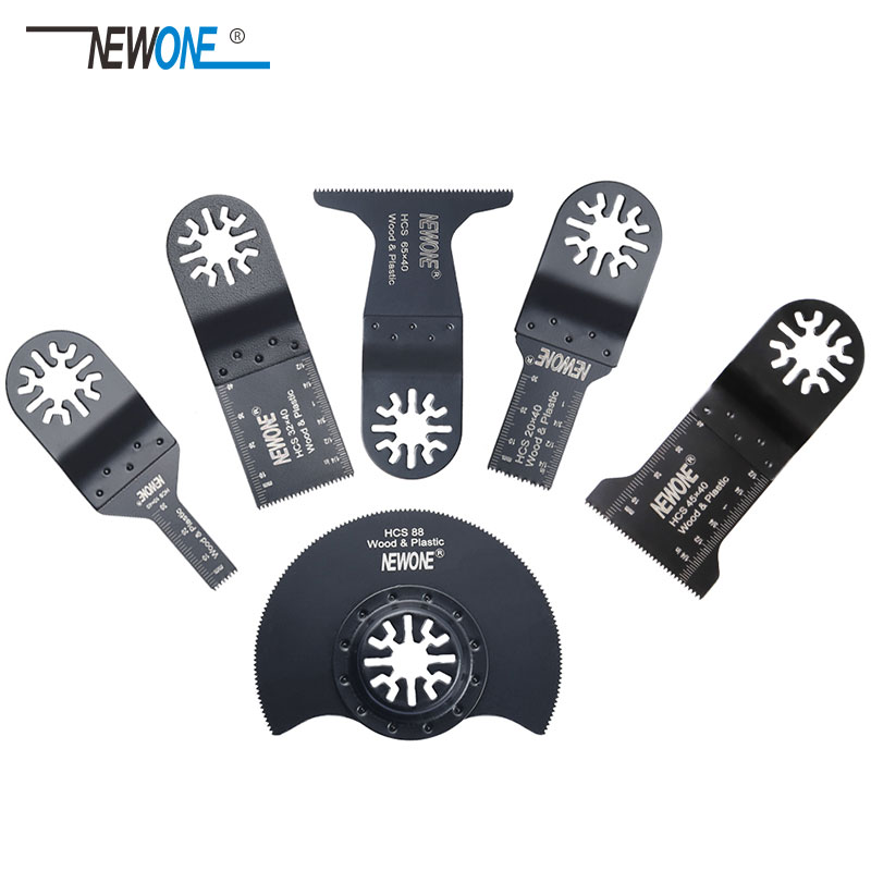Professional 6pcs/set Oscillating Multi Tools Saw Blades Accessories Fit For Multimaster Power Tool As Fein,Dremel Etc