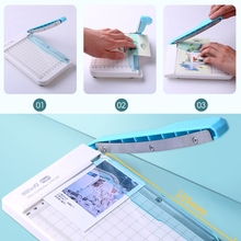 Professional Cutting Machine A4 Paper Guillotine Trimmer Home Office School Paper Photo Cutter Tools