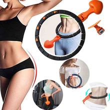 Smart Counting Portable Sport Ring Abdomen Loss Weight Fitness Equipment Waist Workout Circle Sports Supply Detachable