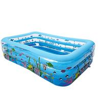 New Inflatable Pool High Quality Children's Home Paddling Pool Large Size Inflatable Square Swimming Pool For Summer Water Fun