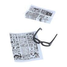 1:12 Dollhouse Miniature Mini Newspaper Glasses Model Doll House Furniture Toy Accessories New
