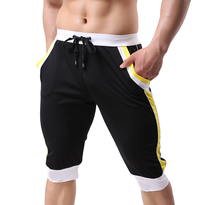 Mens Running Shorts Gym Fitness Workout Pants Breathable Sport Sweatpants Summer