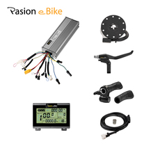 48V 1500W Electric Bicycle Electric Components Parts for 1500W Controller LCD Display Twist Throttle Brake Lever PAS elevator display km713550g01 lift components 713553h04 km713550g01 escalator 713553h04 km713550g01