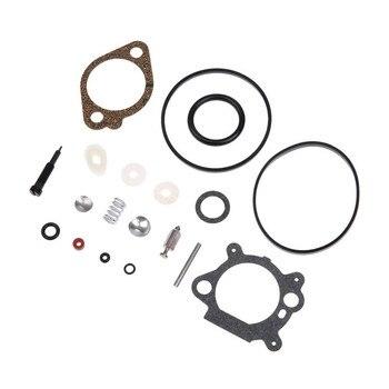 Carburetor Rebuild Kit for Briggs & Stratton Quantum 492495 493762 498260 Mechanized Carburetor Chainsaw Diaphragm accessories carburetor needle seat for briggs