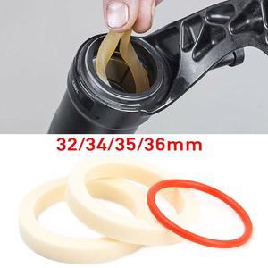 Губка для вилки, масляная поглощающая губка 32/34/35/36 мм, амортизатор для горного велосипеда, уплотнительное кольцо с передним кольцом, красно...