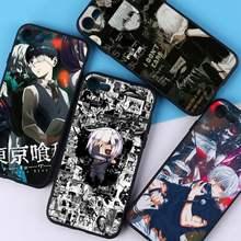Yndfcnb japonês anime tóquio ghoul japão suave caso de telefone para o iphone 11 12 pro xs max 8 7 6s plus x 5S se 2020 xr capa