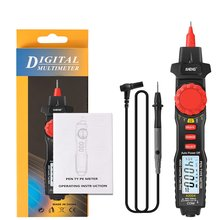 A3004 Digital Multimeter Pen 4000 Counts AC Current Meter Electric Handheld Tester Voltage Resistance Profesional Tools